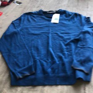 Calvin Klein men blue sweater